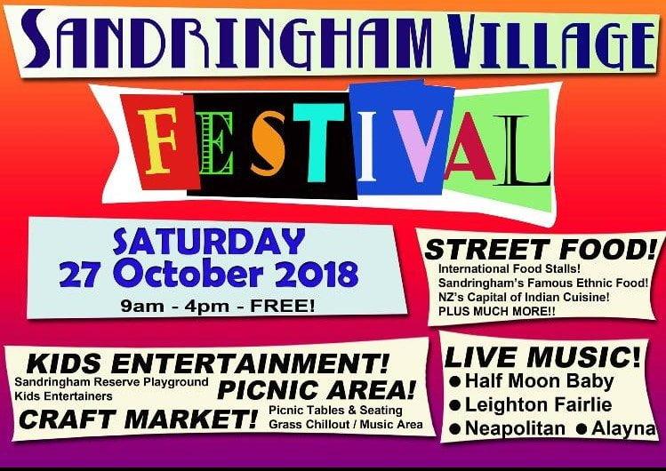 Sandringham Village Festival Auckland 2018