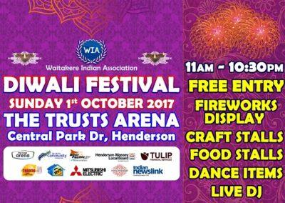 Diwali Festival Henderson 2017