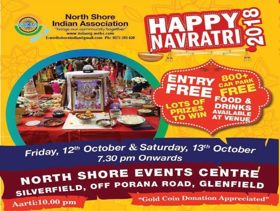 north shore auckland indian association navratri 2018