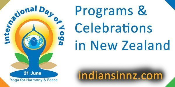 International Yoga Day in New Zealand indiansinnz.com
