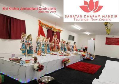 Sanatan Dharam Mandir Tauranga Krishna Janmashtami 2019