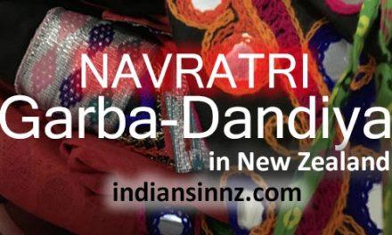 Garba Dandiya in New Zealand