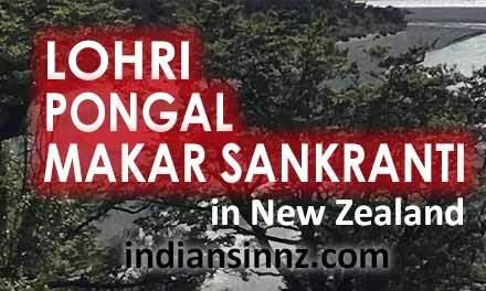 Lohri, Pongal, Makar Sankranti, Uttarayan in New Zealand