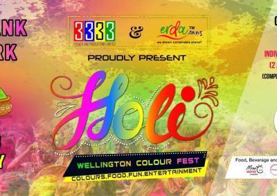 Wellington Colour Fest Holi