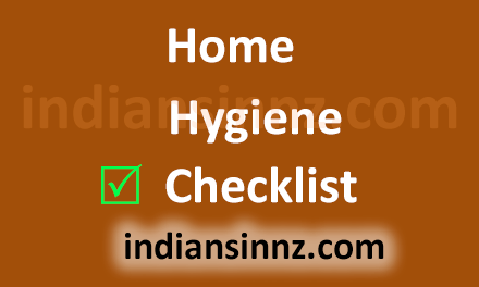 Home hygiene checklist
