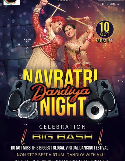Global virtual Navratri Dandiya Night