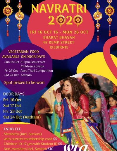 Navratri Wellington NZ 2020
