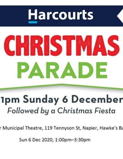 Harcourts Christmas Parade Napier 2020