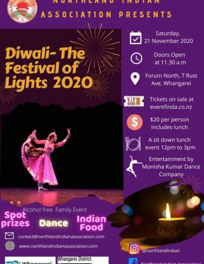 Northland Indian Association Diwali 2020