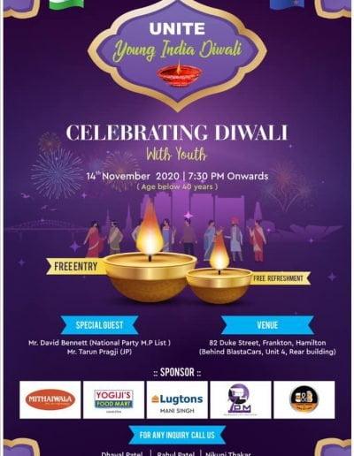 Young India Diwali Hamilton 2020