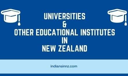 Universities & Polytechnic Institutes in New Zealand