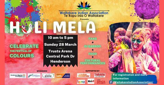 Waitakere Indian Association Holi Mela 2021