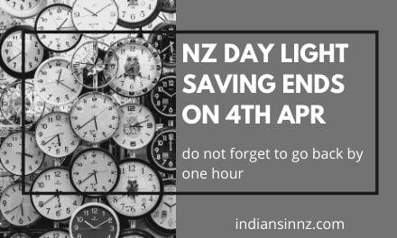 NZ day light saving