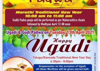 Ugadi, Gudi Padwa at Shirdi Sai Temple Auckland 2021