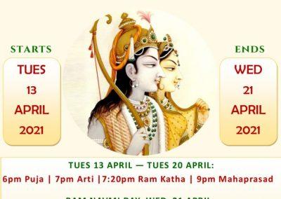 Shri Ram Mandir Auckland - Ram Navmi 2021
