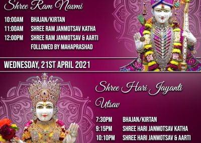 Swami Narayan Temple ISSO Auckland Ram Navmi 2021